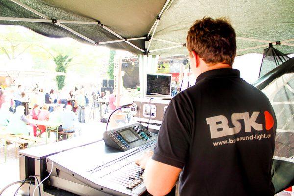 BSK Networks GbR Tontechnik Lautsprecher Bühne